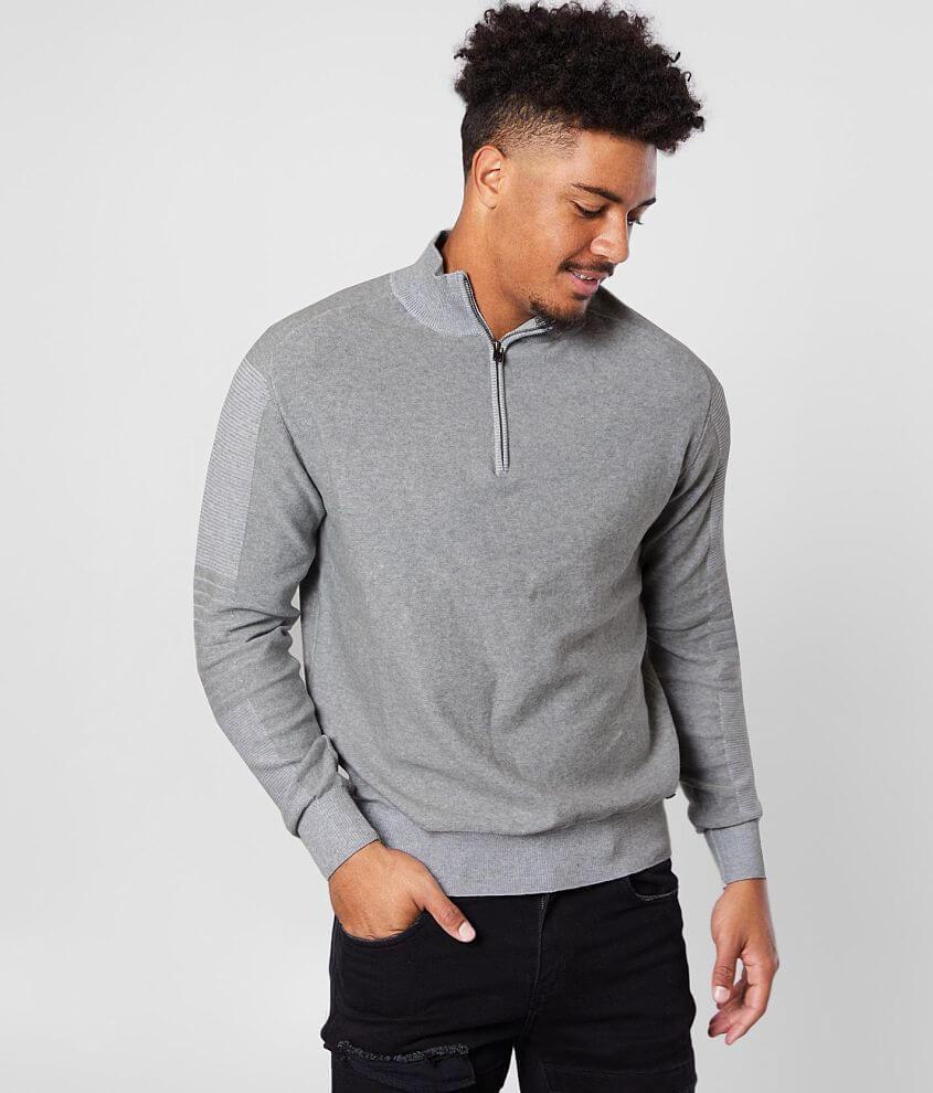 J.B. Holt Quarter Zip Sweater front view
