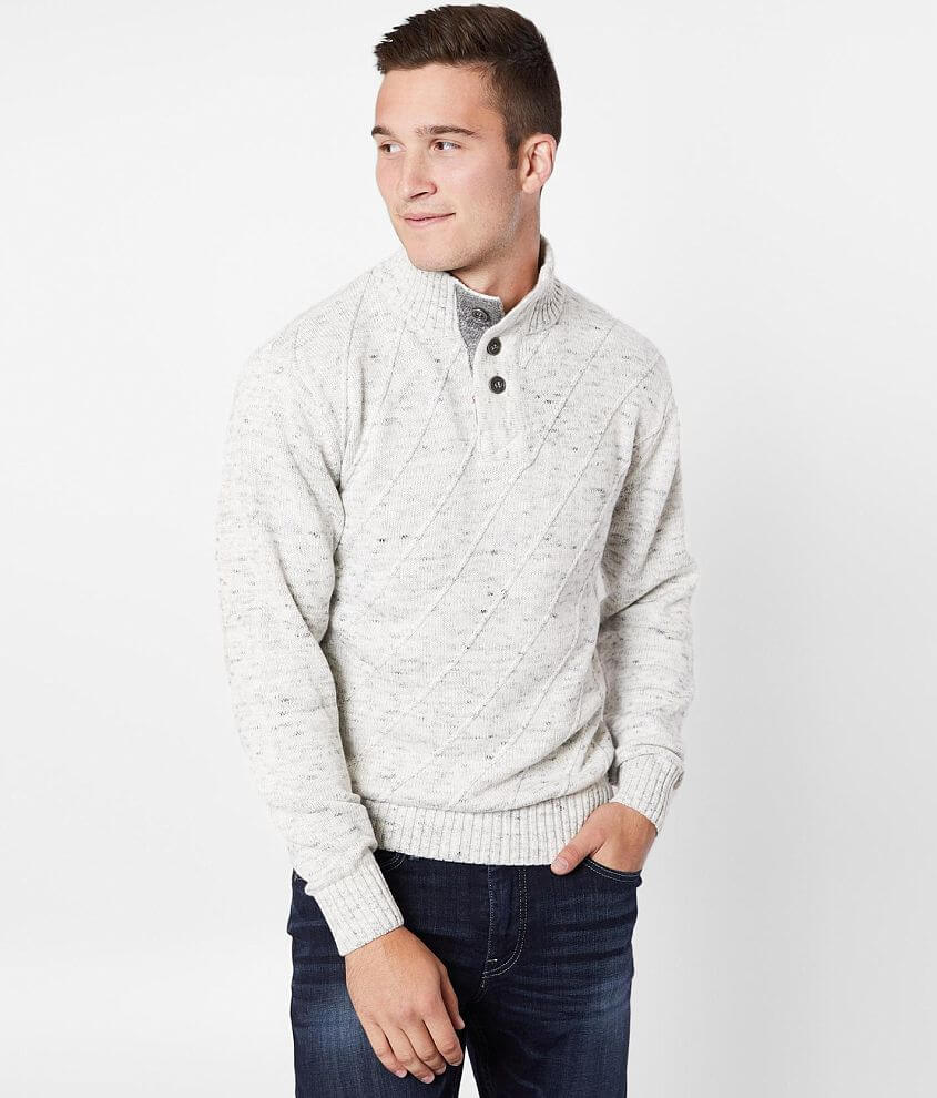 J.B. Holt Stanley Henley Sweater front view