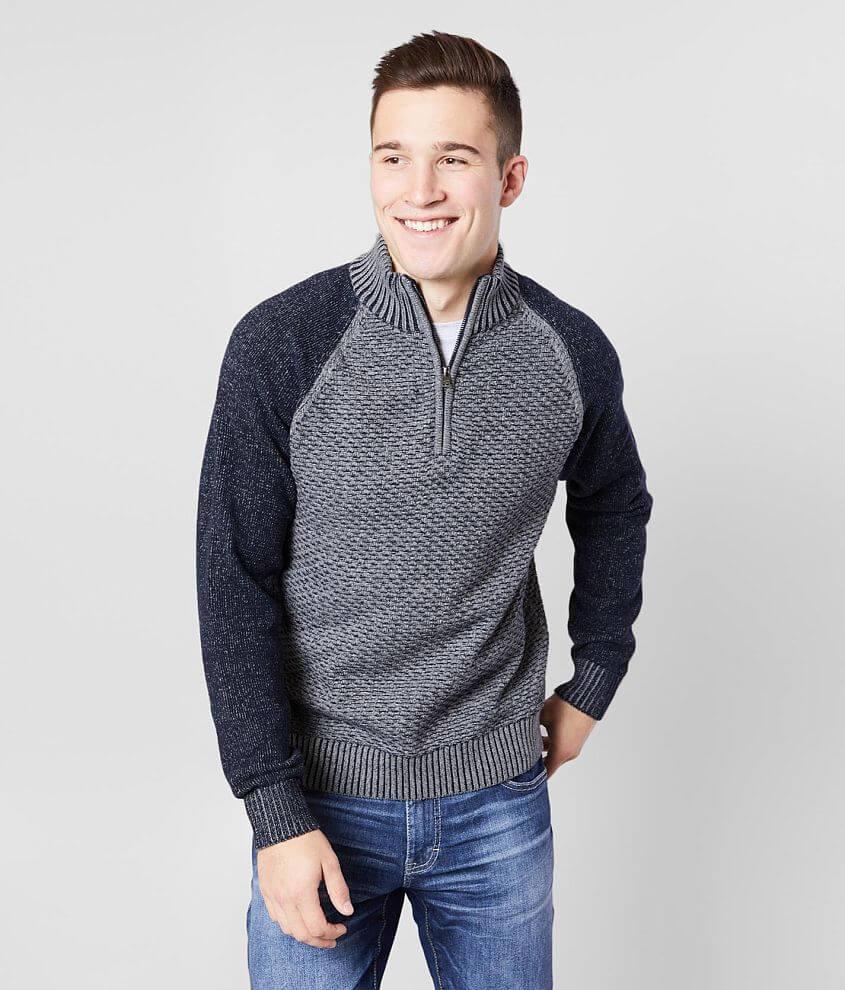 J.B. Holt Lenexa Quarter Zip Sweater front view