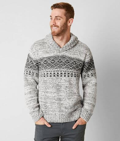 Outpost Makers Open Weave Sweater