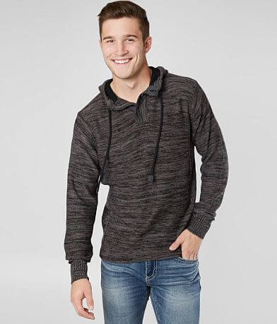 Outpost Makers Hooded Henley Sweater
