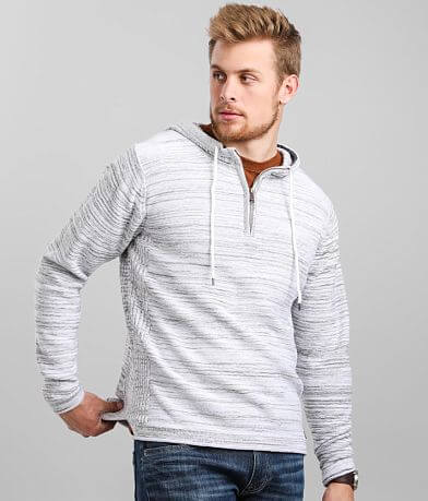 Outpost Makers Quarter Zip Hooded Sweater