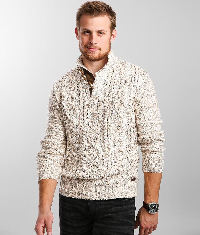Outpost Makers Toggle Henley Sweater front view