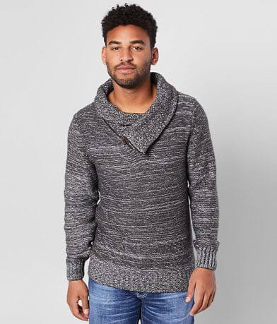 Outpost Makers Asymmetrical Quarter Zip Sweater