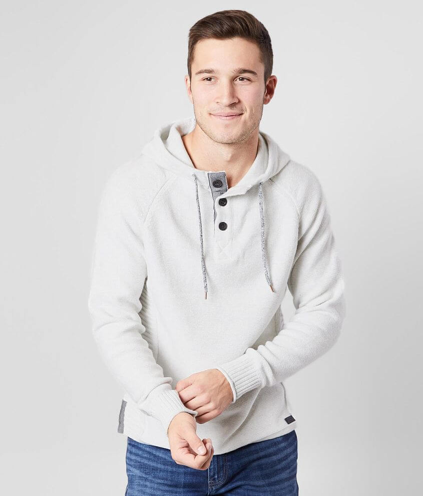 Outpost Makers Hooded Henley Sweater front view