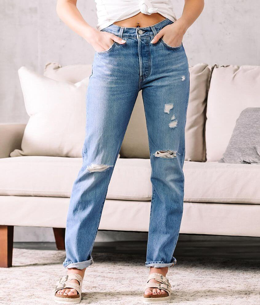 Levi's® 501® High Rise Straight Jean front view