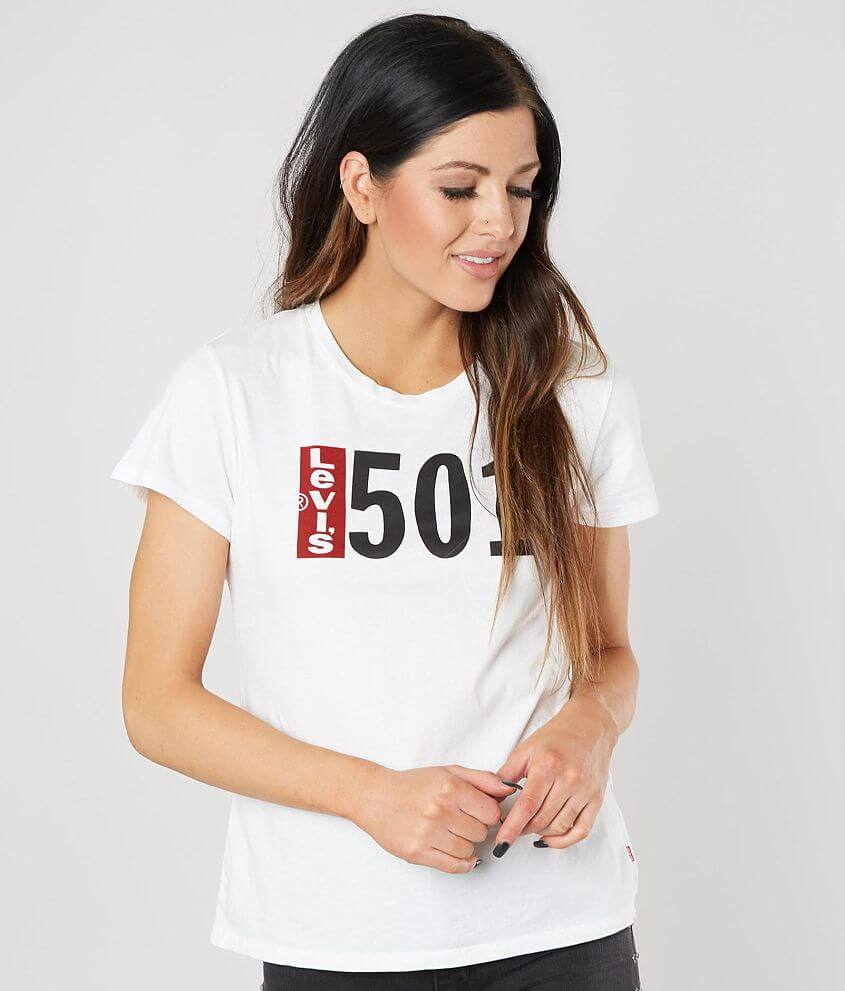 8c50f409 Levi's® 501® Perfect T-Shirt - Women's T-Shirts in White | Buckle