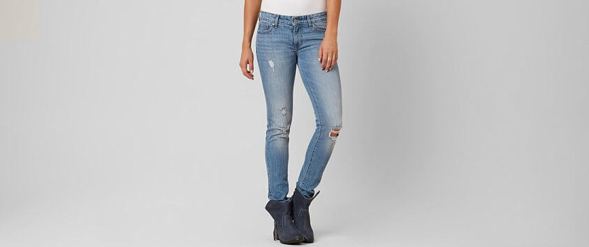 Levi's® Premium 711 Mid-Rise Skinny Jean front view