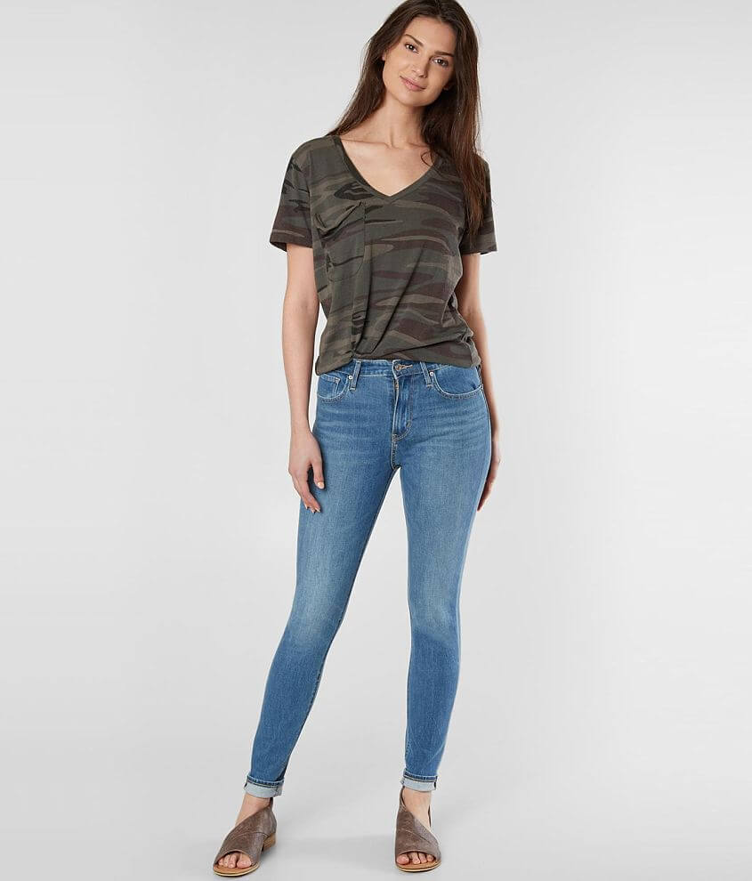 Levi's® Premium 721 High Rise Skinny Jean front view
