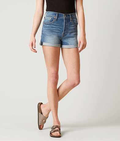Levi's® High Rise Wedgie Cuffed Short