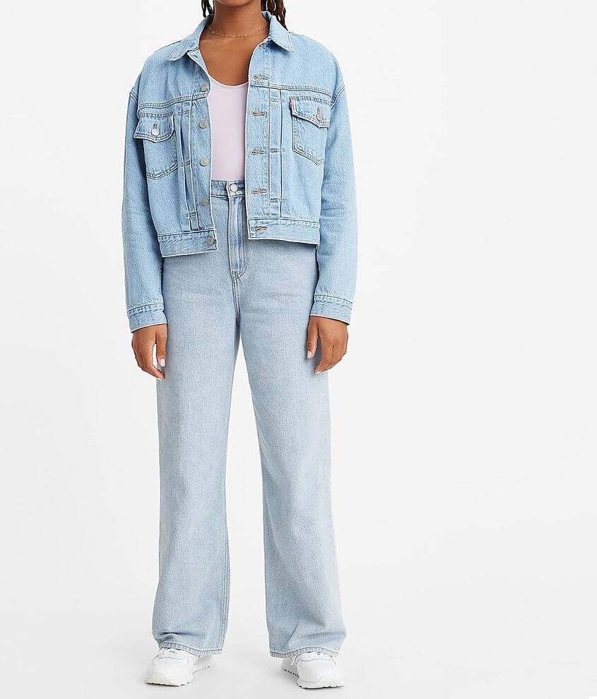 Levi's® High Rise Loose Straight Jean front view