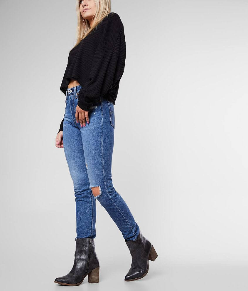 Levi's® 501® High Rise Skinny Jean front view