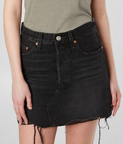 Levi's® Deconstructed Denim Skirt