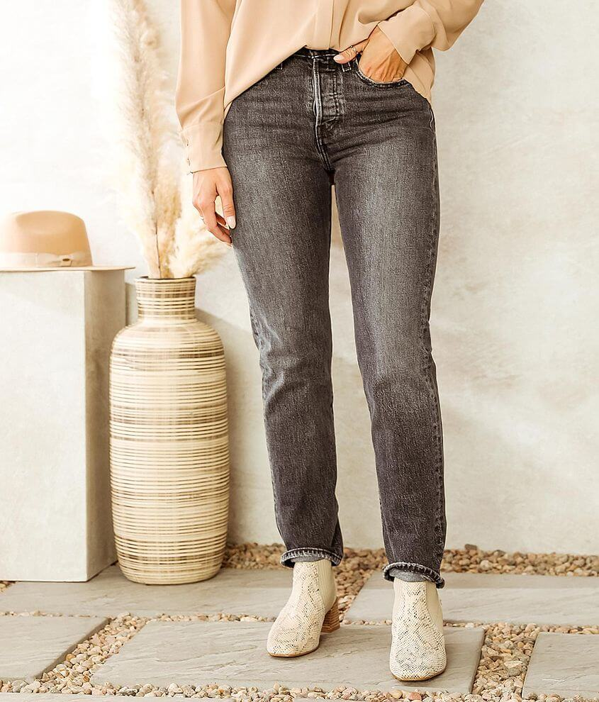 Levi's® Wedgie Straight Stretch Jean front view