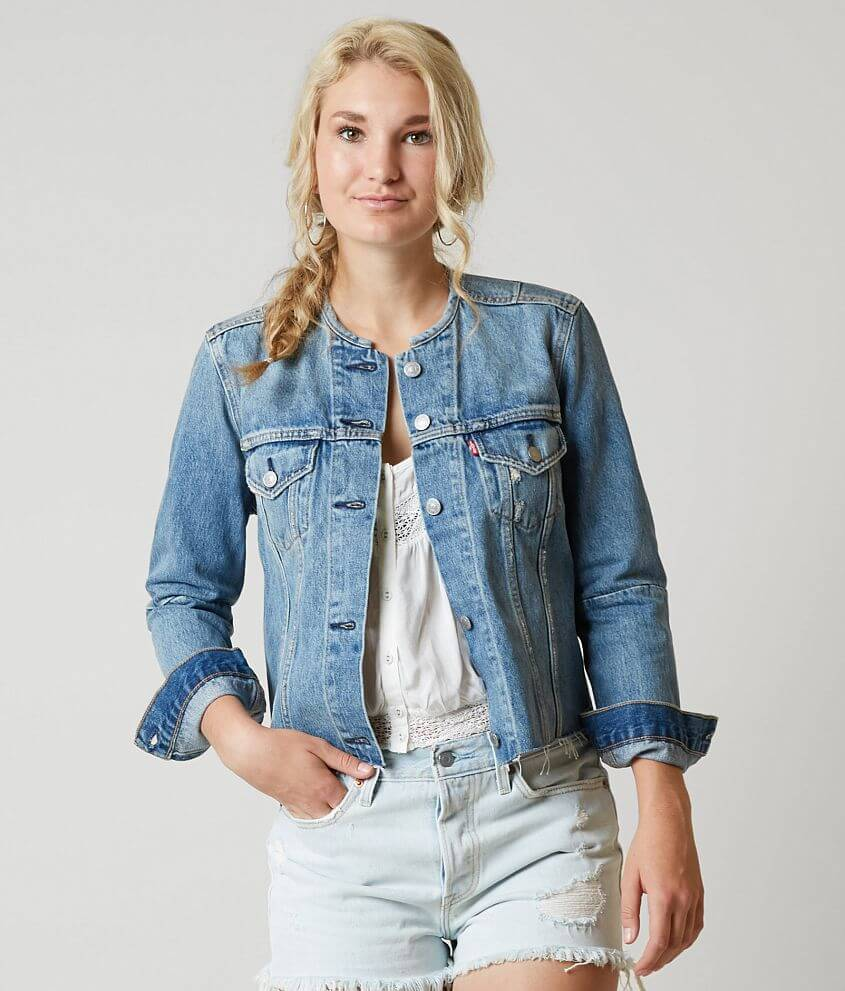 Levi's® Altered Trucker Denim Jacket Women's CoatsJackets