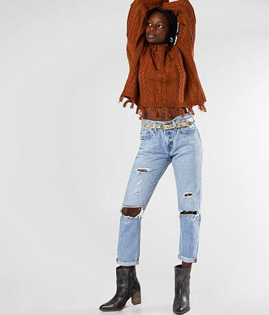 Levi's® 501® Mid-Rise Taper Jean