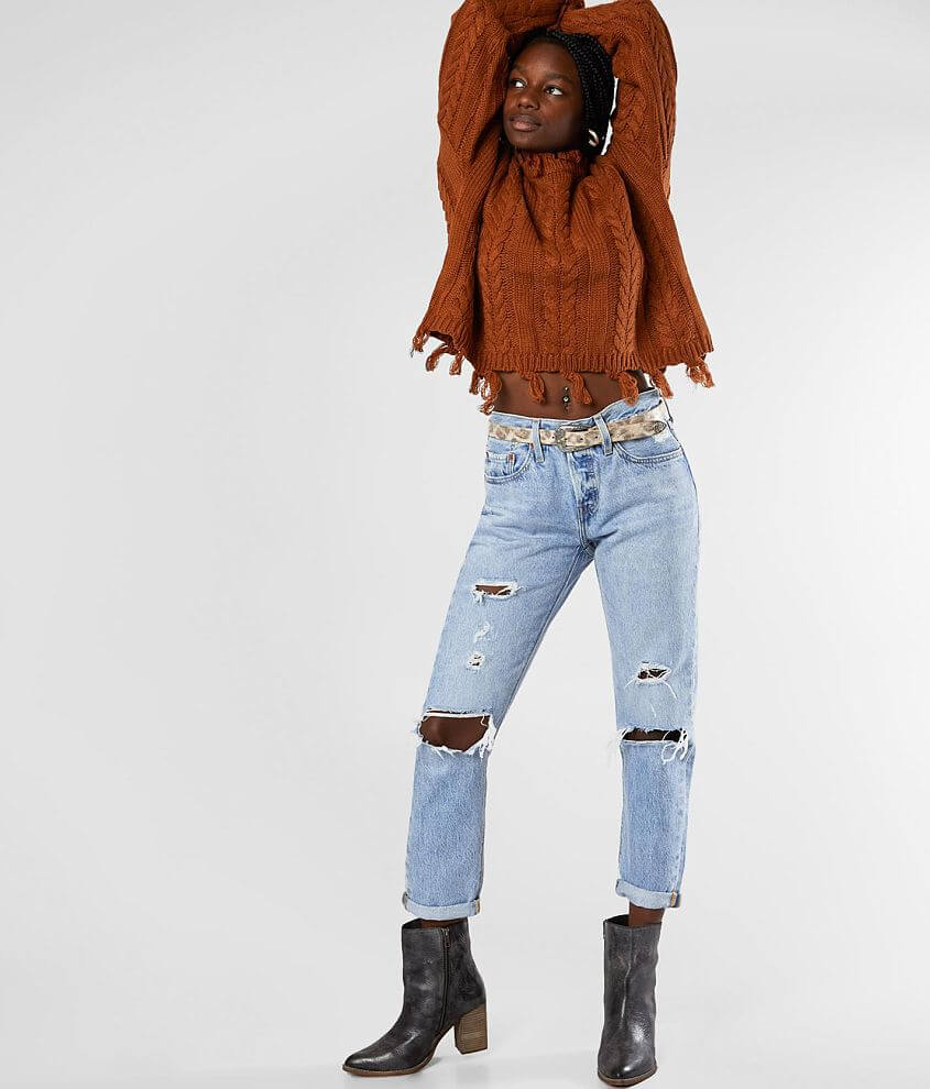 Levi's® 501® Mid-Rise Taper Jean front view