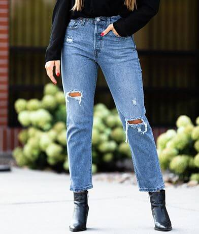 Levi's® 501® High Rise Cropped Jean