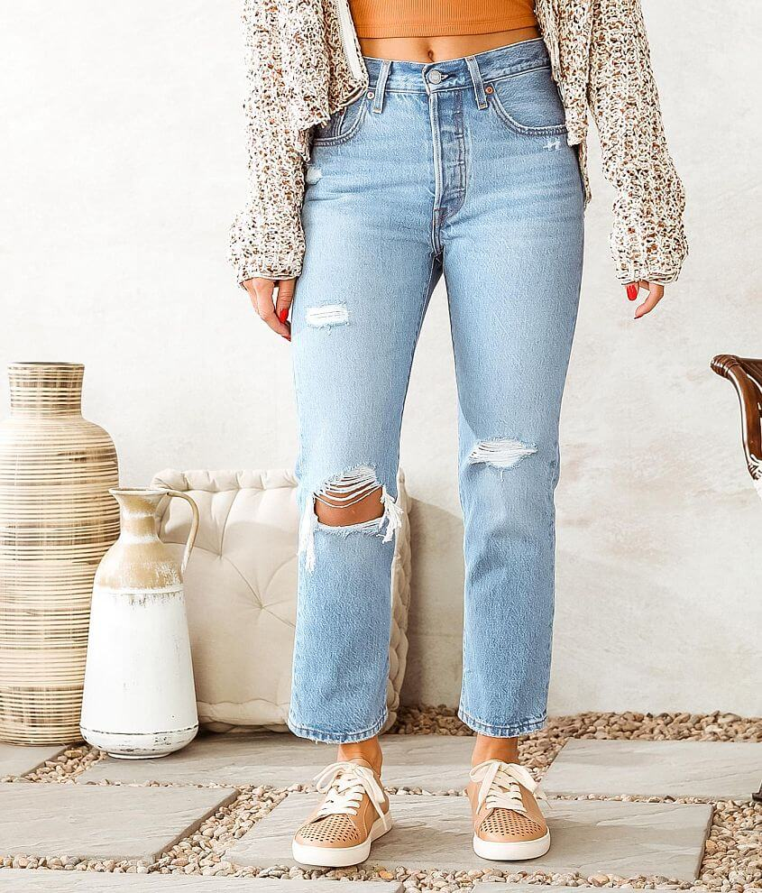 Levi's® 501® Cropped Jean front view