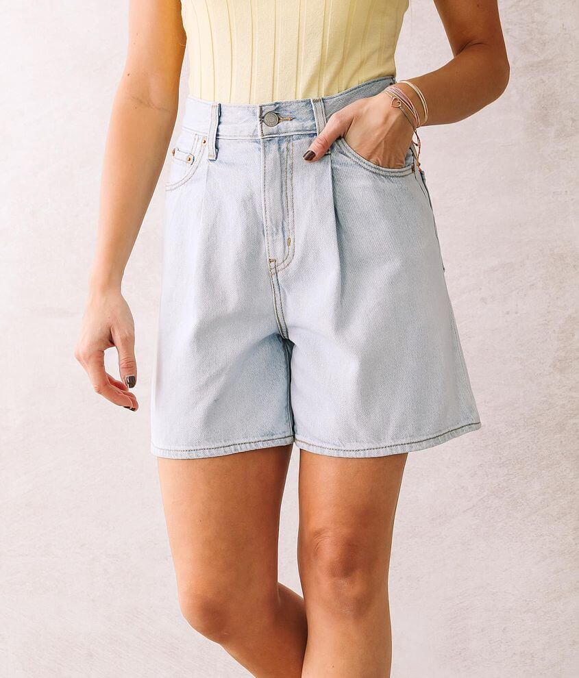 Levi's® Pleated Ribcage Short front view