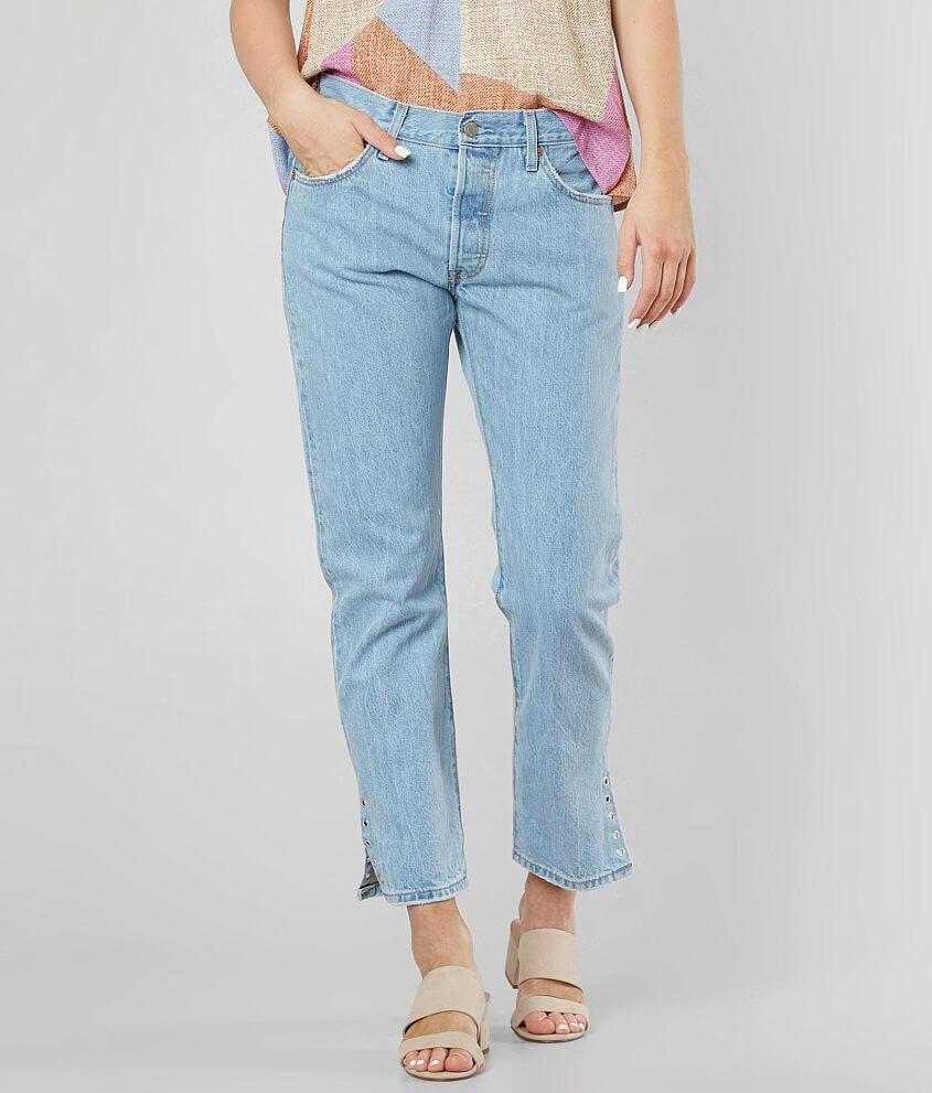 4ea9a901df6 Levi's® 501® Straight Jean - Women's Jeans in Eye For An Eye | Buckle