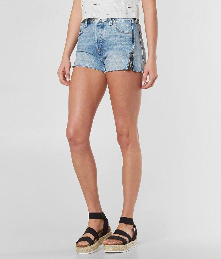 936ed1ef Levi's® 501® Altered Short - Women's Shorts in Misted Indigo   Buckle