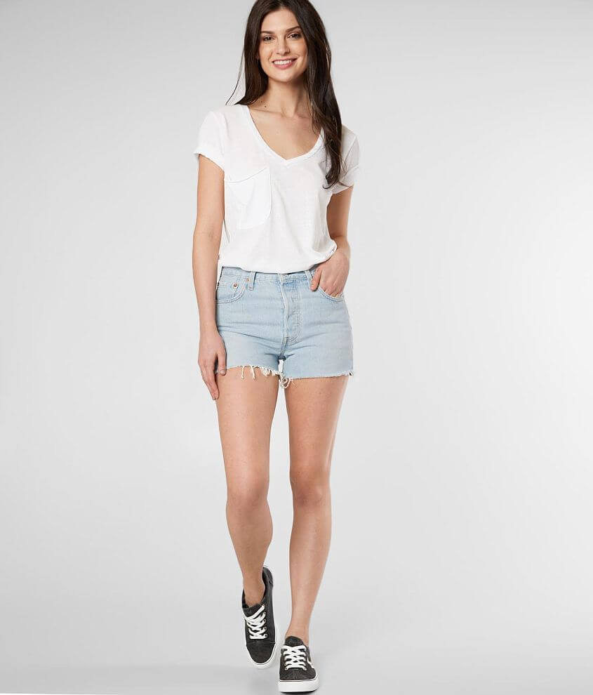 98a6e7d8 Levi's® 501® High Rise Short - Women's Shorts in Weak in the Knees ...
