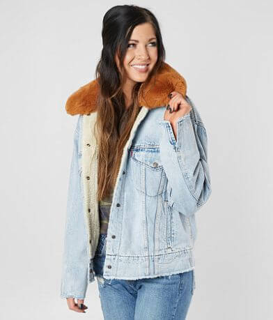 Levi's® Oversized Denim Trucker Jacket
