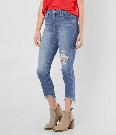 Levi's® High Rise Straight Stretch Jean