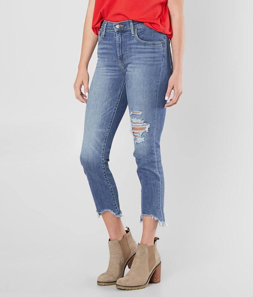 63923533bc2eb Levi s® High Rise Straight Stretch Jean - Women s Jeans in Indigo ...