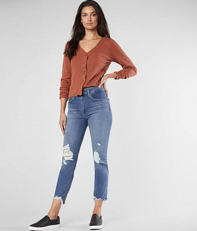 Levi's® High Rise Straight Cropped Jean