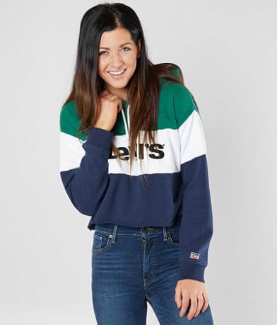 Levi's® Color Block Hooded Sweatshirt