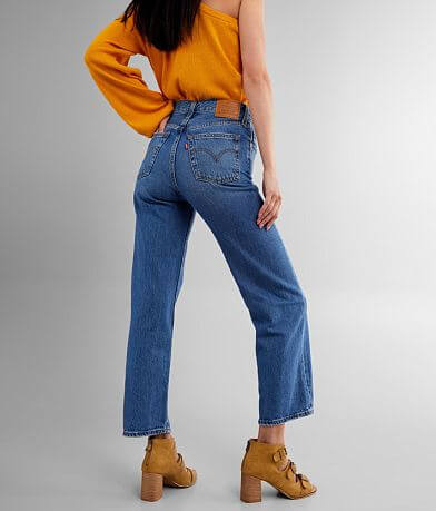 Levi's® Ribcage Ankle Straight Jean