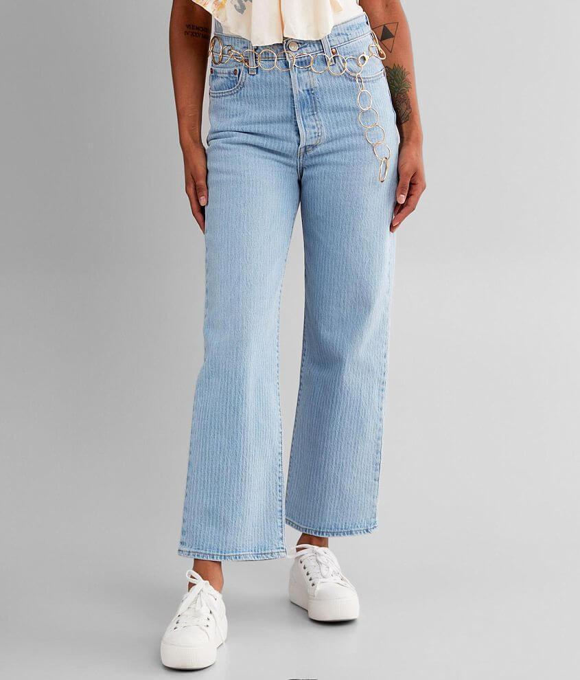 Levi's® Premium Ribcage Straight Jean front view