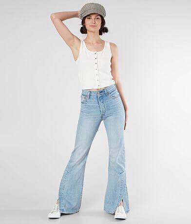Levi's® Ribcage Split Flare Jean