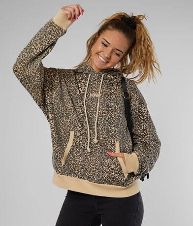 Levi's® Cheetah Print Hooded Sweatshirt