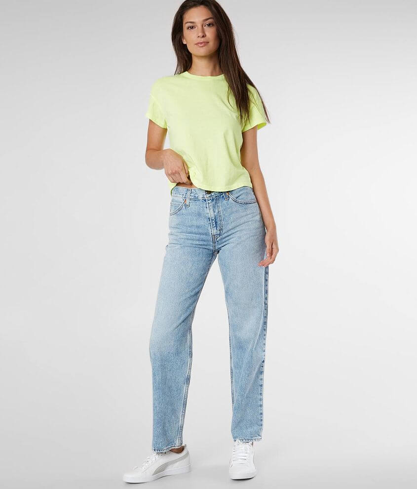 Levi's® Premium Dad Straight Jean front view