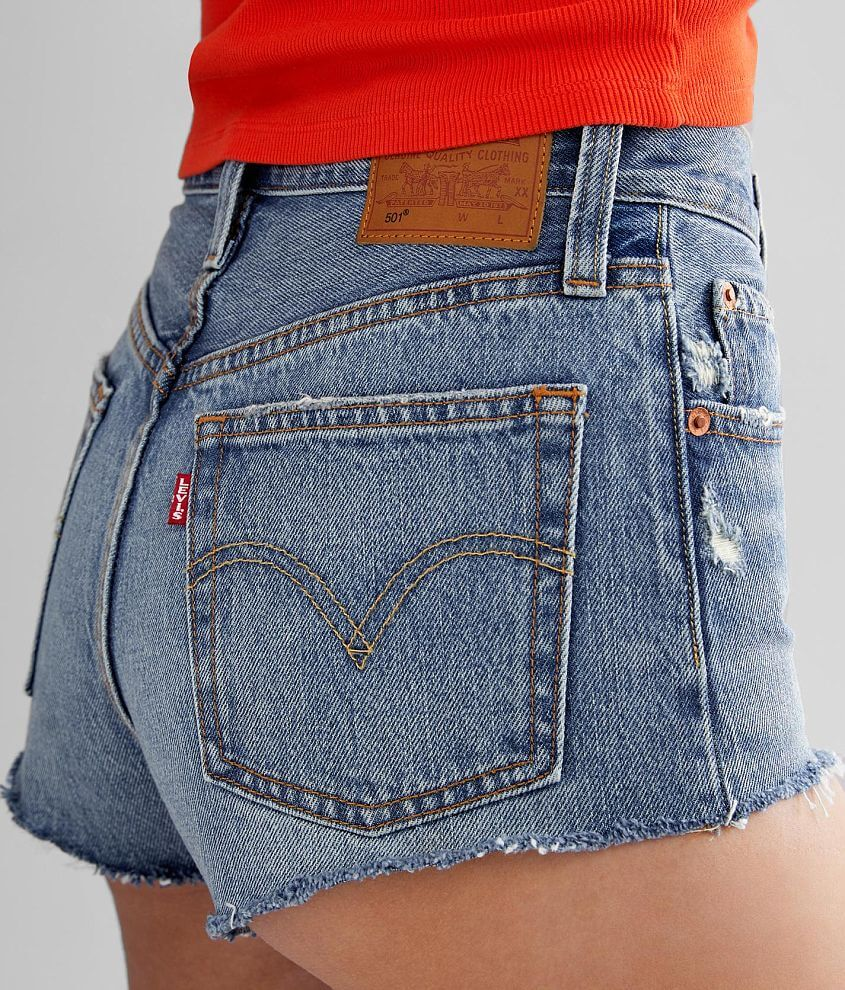 Levi's® 501® High Rise Micro Short front view
