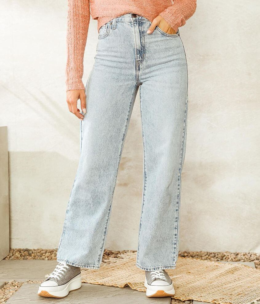 Levi's® High Waisted Straight Jean front view