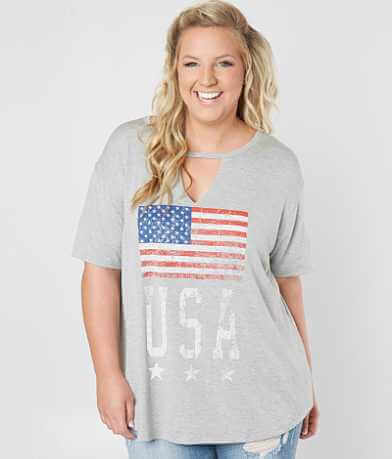 Life Clothing Co. USA T-Shirt - Plus Size Only