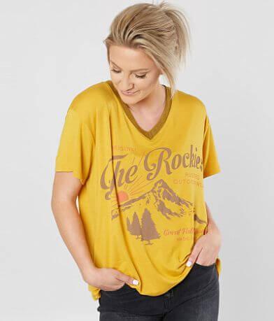 Life Clothing Co. The Rockies V-Neck T-Shirt