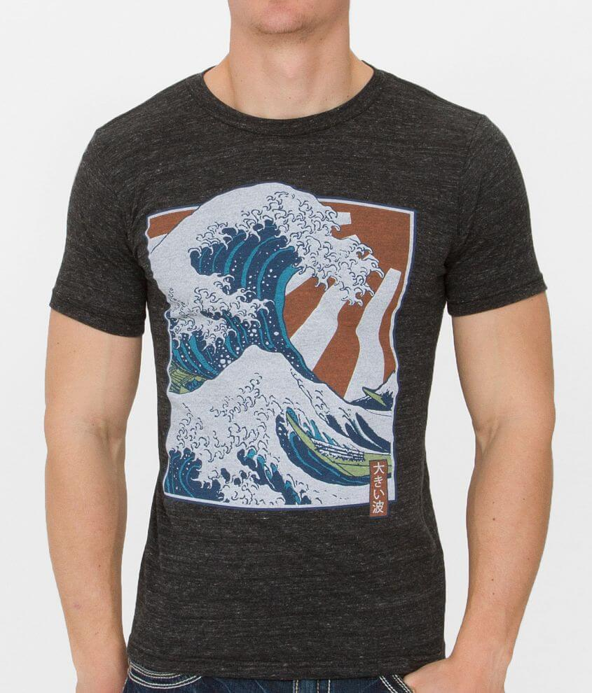 Life Clothing Co. Wave   Sun T-Shirt - Men s T-Shirts in Charcoal ... d74a3097c