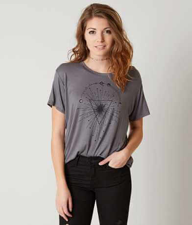 Modish Rebel Abstract T-Shirt