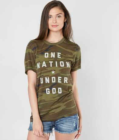 The Light Blonde One Nation Under God T-Shirt