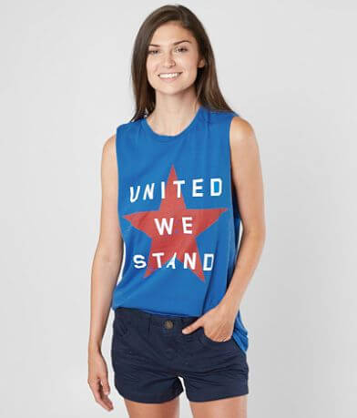 The Light Blonde United We Stand Muscle Tank Top