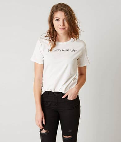 The Light Blonde Too Pretty To Act Ugly T-Shirt