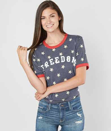 The Light Blonde Freedom Star T-Shirt