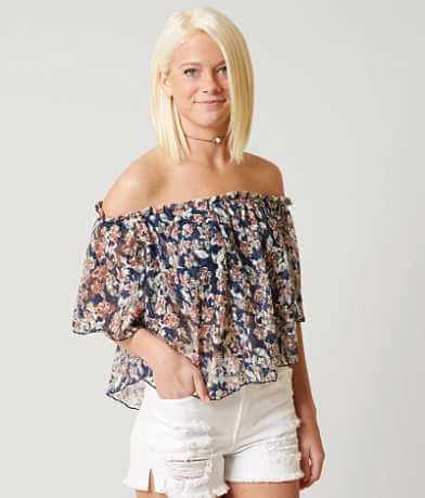 Daytrip Lace Crop Top
