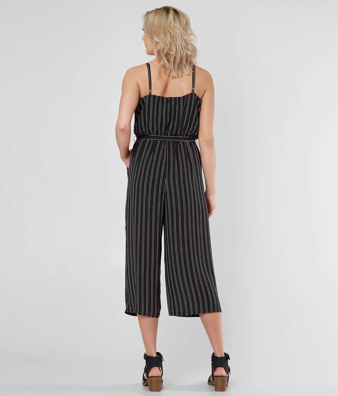 d86f790045b4 Daytrip Striped Gaucho Jumpsuit - Women s Rompers Jumpsuits in Black ...