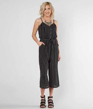 Daytrip Striped Gaucho Romper